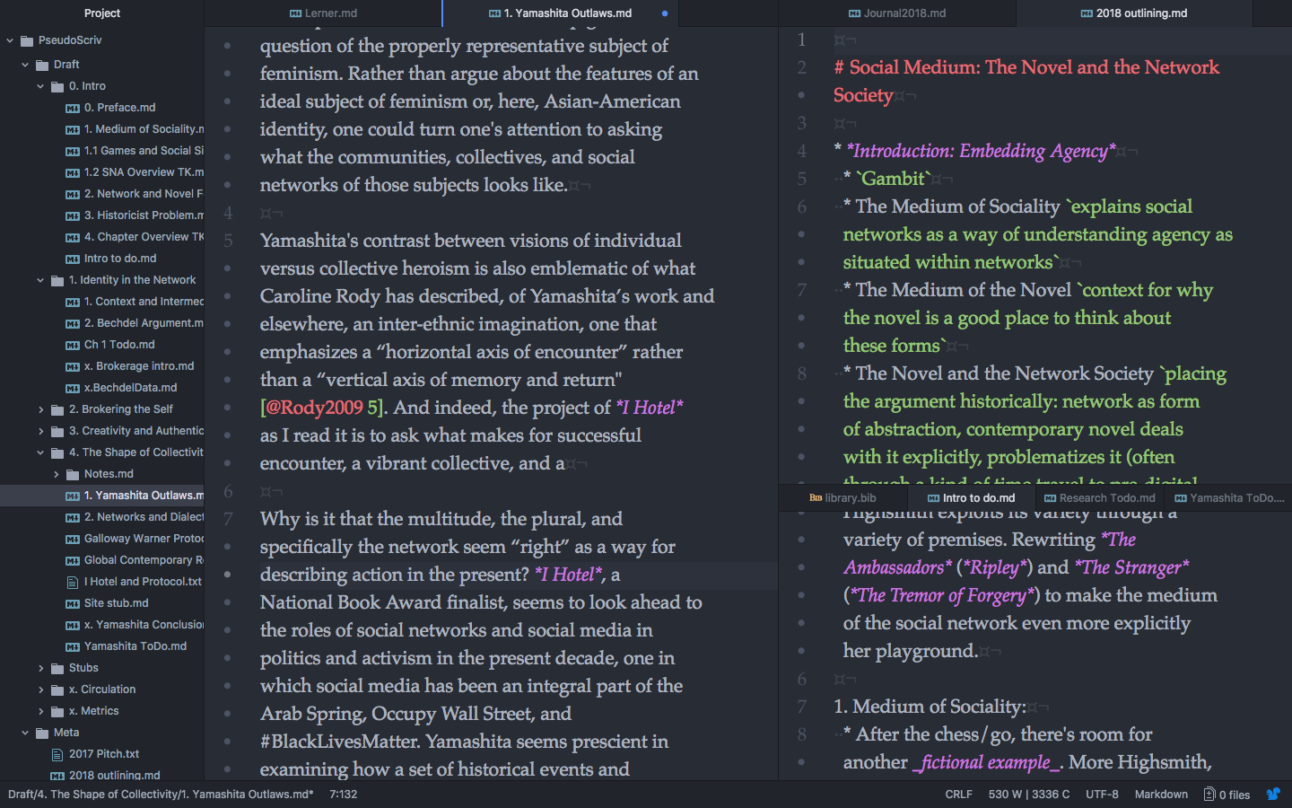 A Plain Text Workflow for Academic Writing with Atom · Scott Selisker